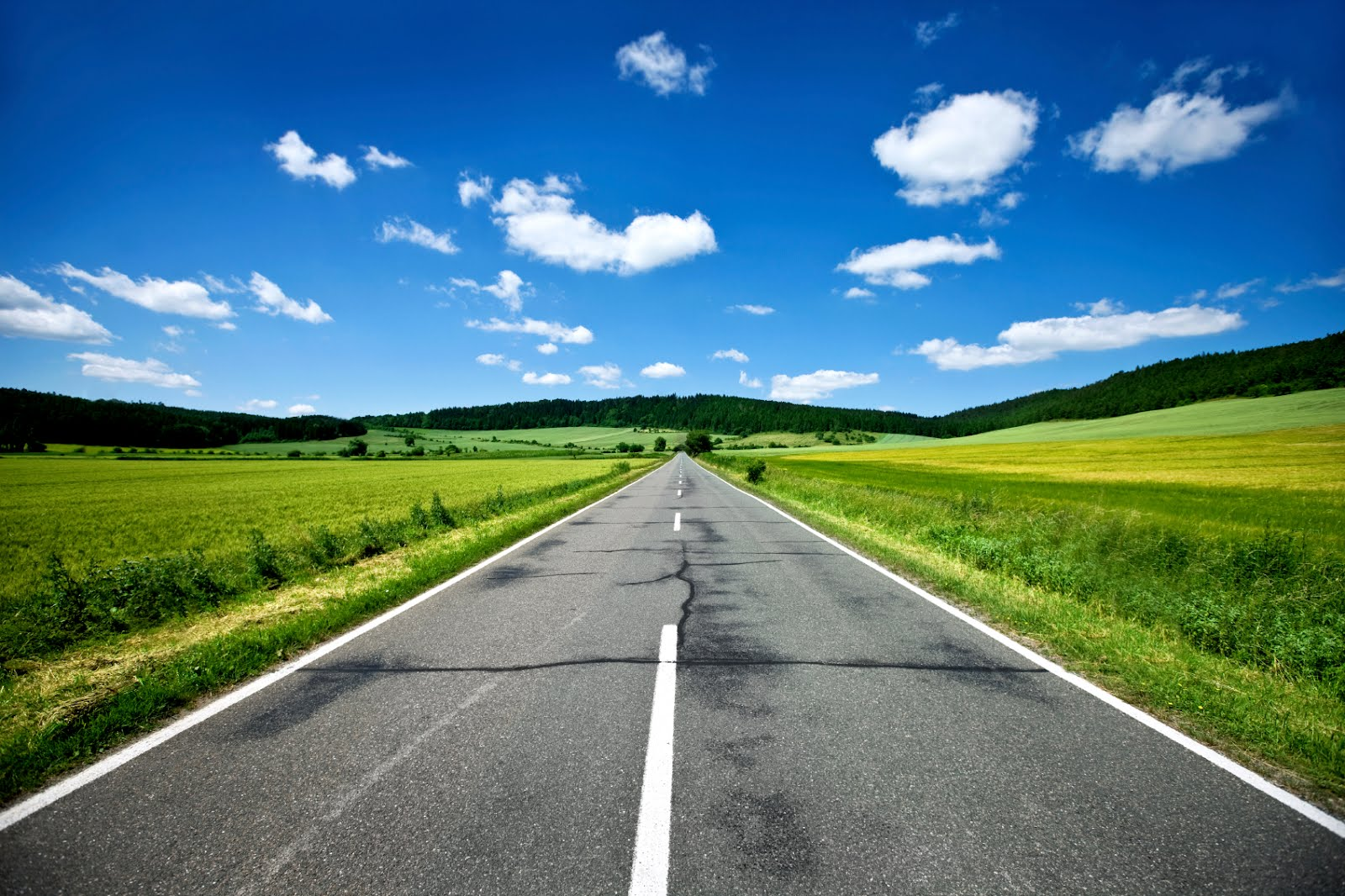 HD Quality Wallpaper | Collection: Artistic, 1600x1066 Road