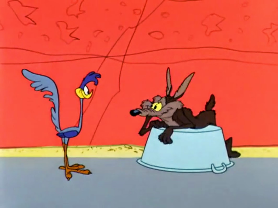 Nice Images Collection: Wile E. Coyote And The Road Runner Desktop Wallpapers