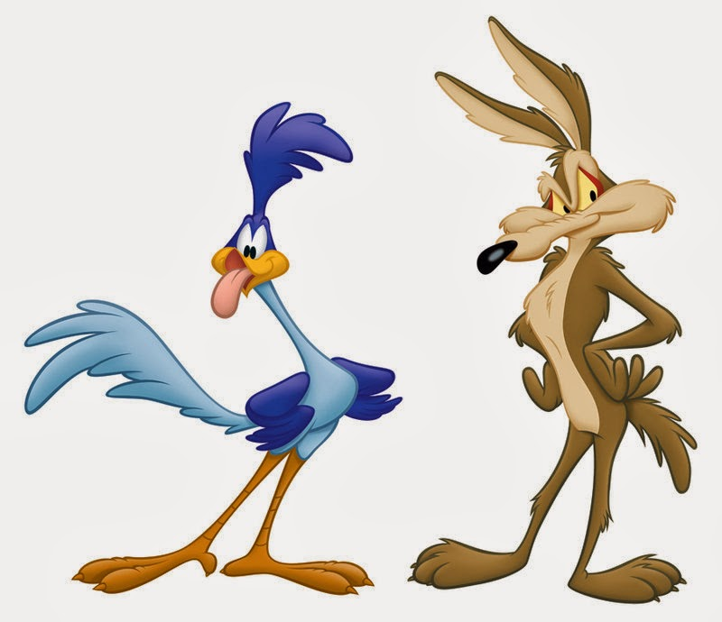 High Resolution Wallpaper | Wile E. Coyote And The Road Runner 800x690 px