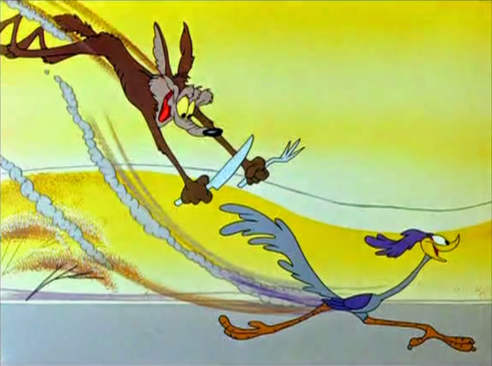 Nice wallpapers Road Runner And Wile E. Coyote 962x717px