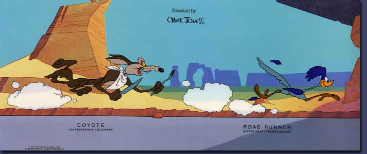 Nice wallpapers Wile E. Coyote And The Road Runner 734x309px