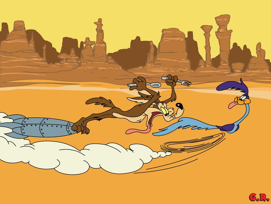 Road Runner And Wile E. Coyote Backgrounds, Compatible - PC, Mobile, Gadgets  900x678 px