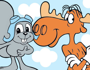 Nice Images Collection: Rocky And Bullwinkle Desktop Wallpapers