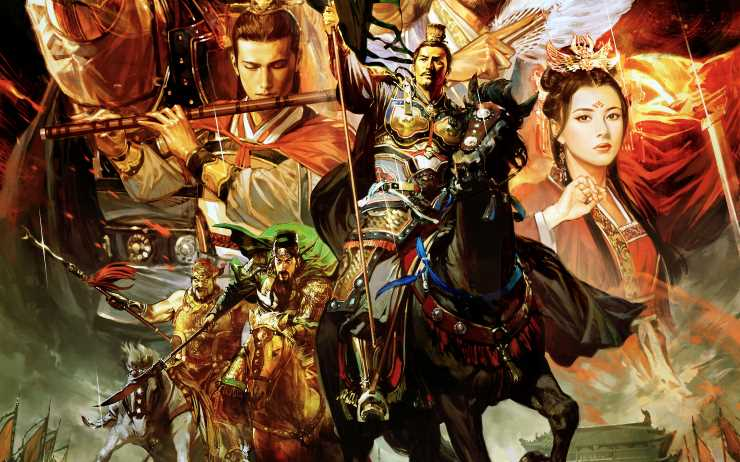 Nice Images Collection: Three Kingdoms Desktop Wallpapers