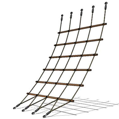 HD Quality Wallpaper | Collection: Man Made, 400x400 Rope Ladder