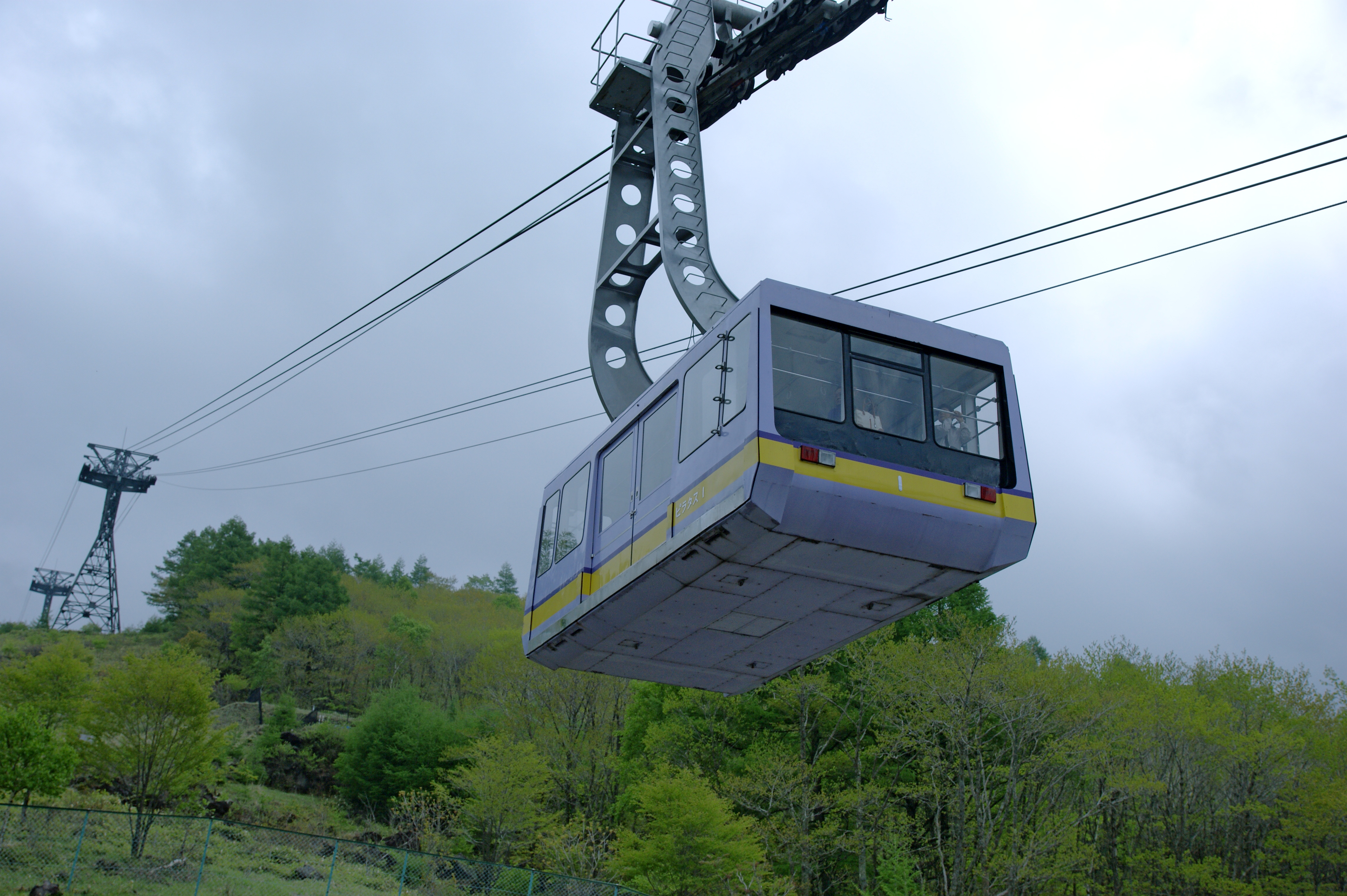 High Resolution Wallpaper | Ropeway 4592x3056 px