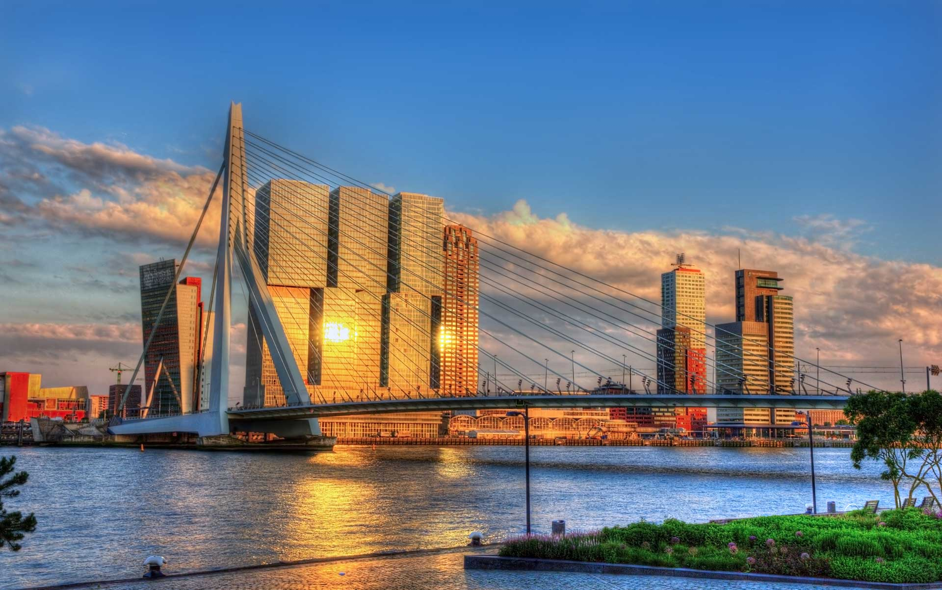 Nice wallpapers Rotterdam 1920x1203px