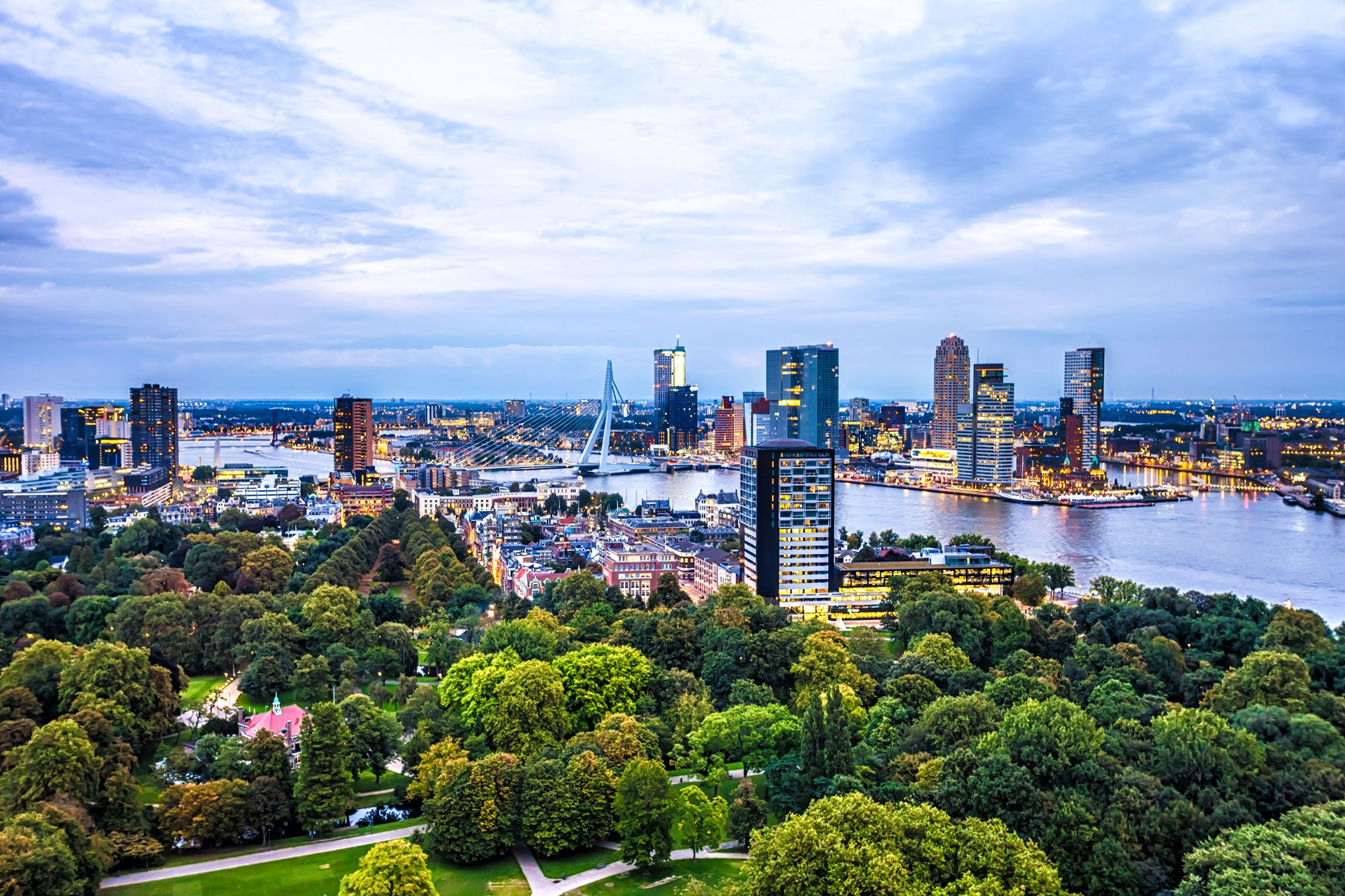 HD Quality Wallpaper   Collection: Man Made, 2300x1533 Rotterdam