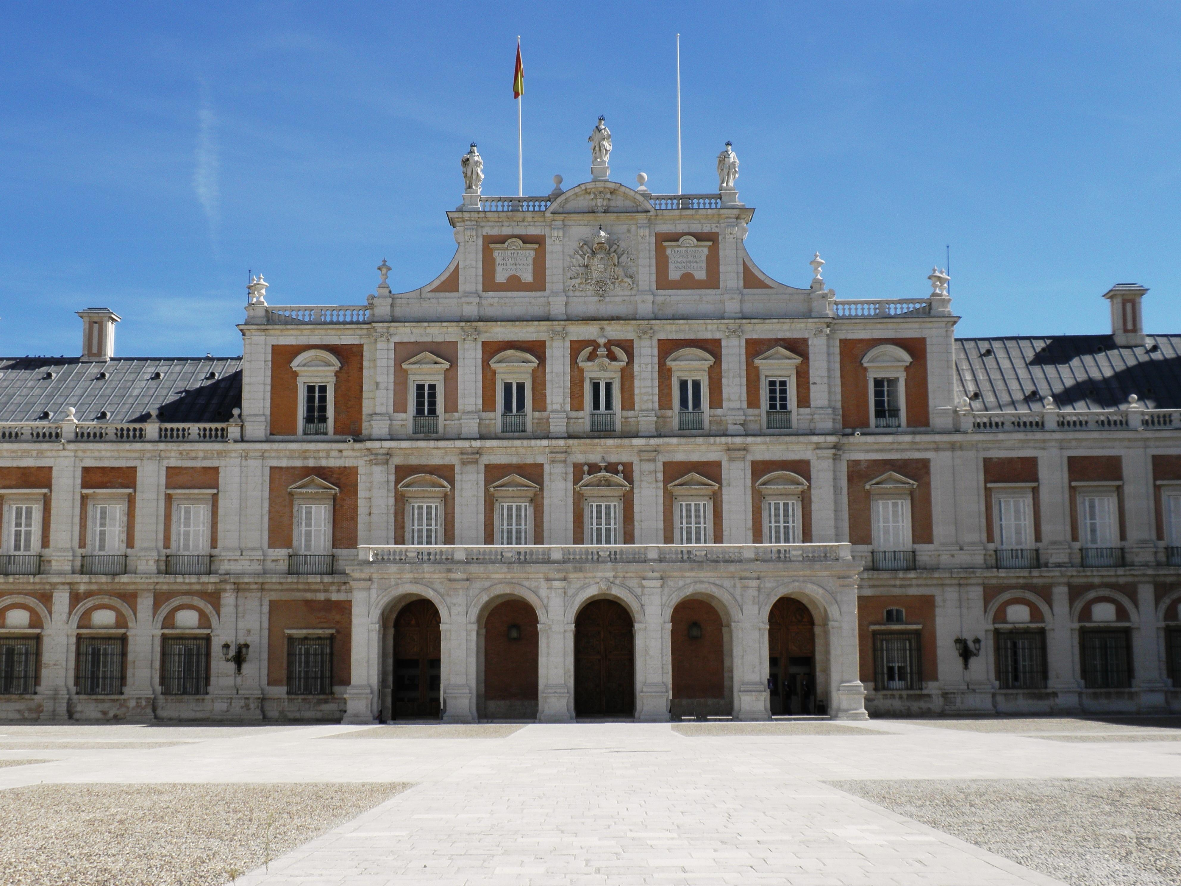 Royal Palace Of Aranjuez Backgrounds on Wallpapers Vista