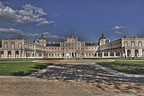 Nice Images Collection: Royal Palace Of Aranjuez Desktop Wallpapers