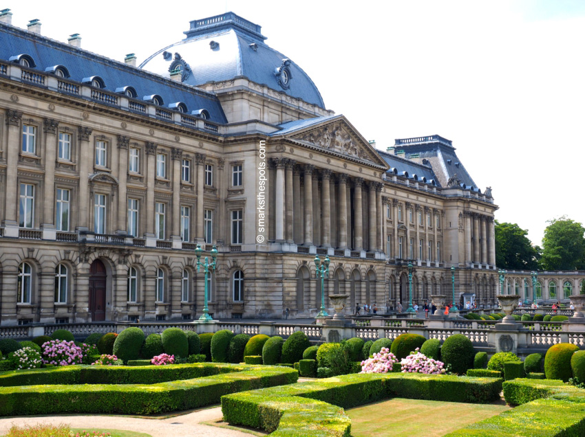 Nice Images Collection: Royal Palace Of Brussels Desktop Wallpapers