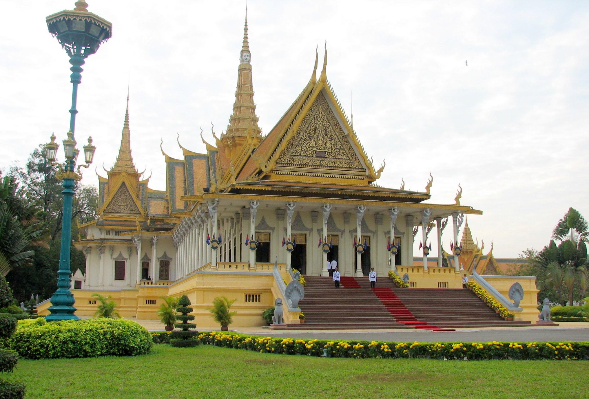 Royal Palace, Phnom Penh Pics, Man Made Collection