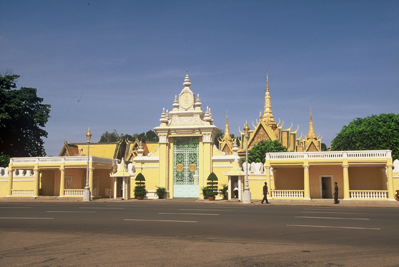 Nice Images Collection: Royal Palace, Phnom Penh Desktop Wallpapers