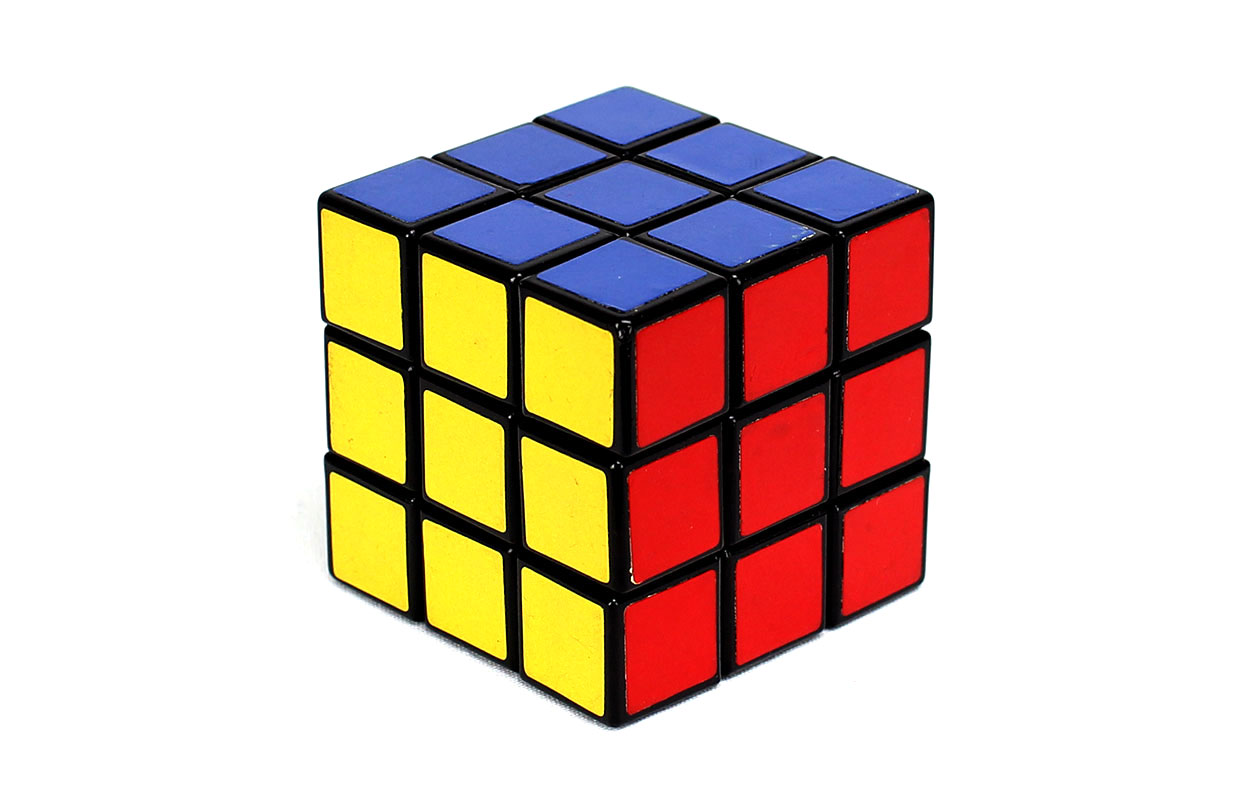 Nice Images Collection: Rubik's Cube Desktop Wallpapers