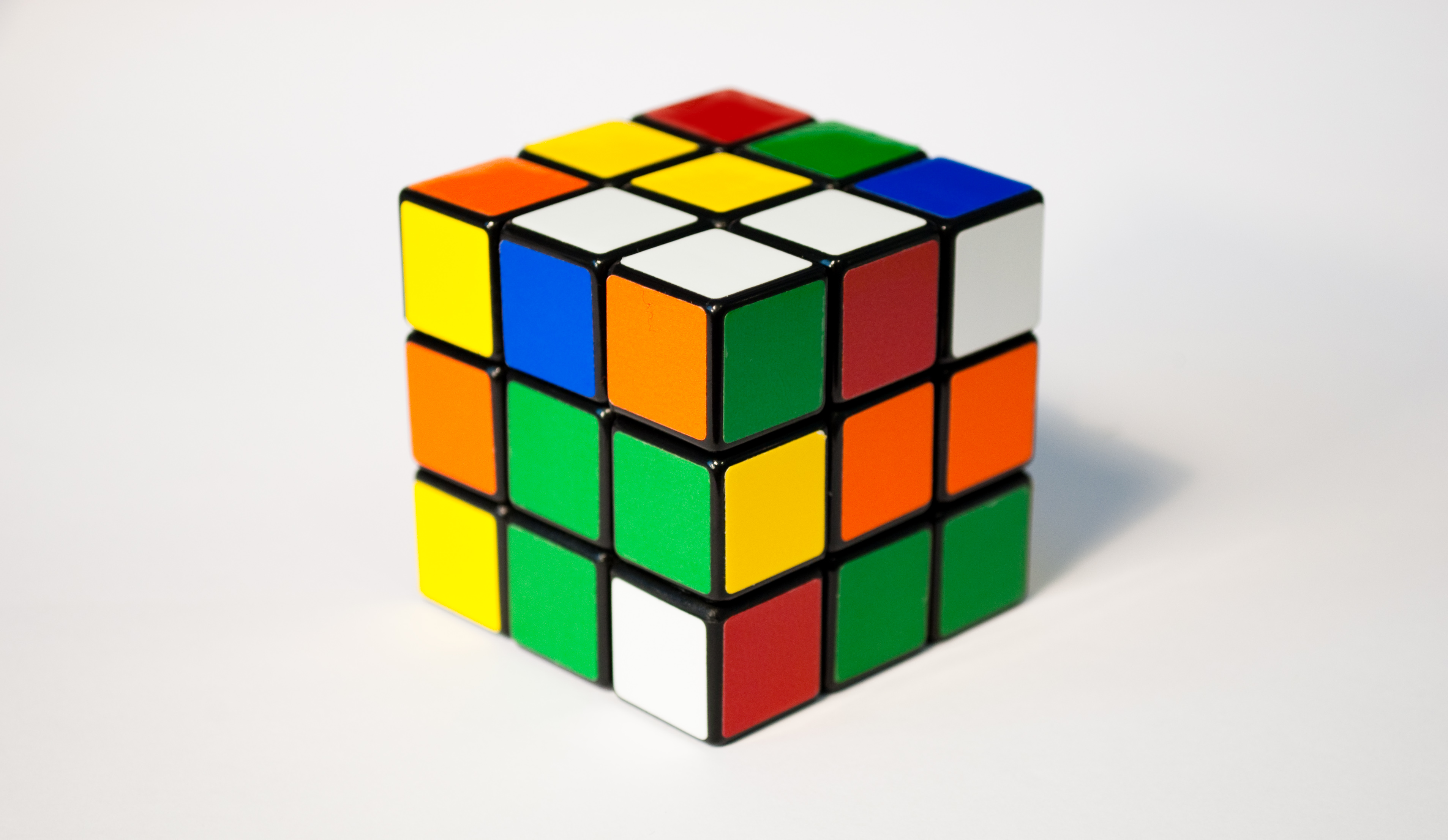 HD Quality Wallpaper | Collection: Game, 3813x2213 Rubik's Cube