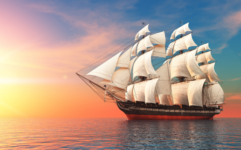 Sailboat Backgrounds, Compatible - PC, Mobile, Gadgets| 2880x1800 px