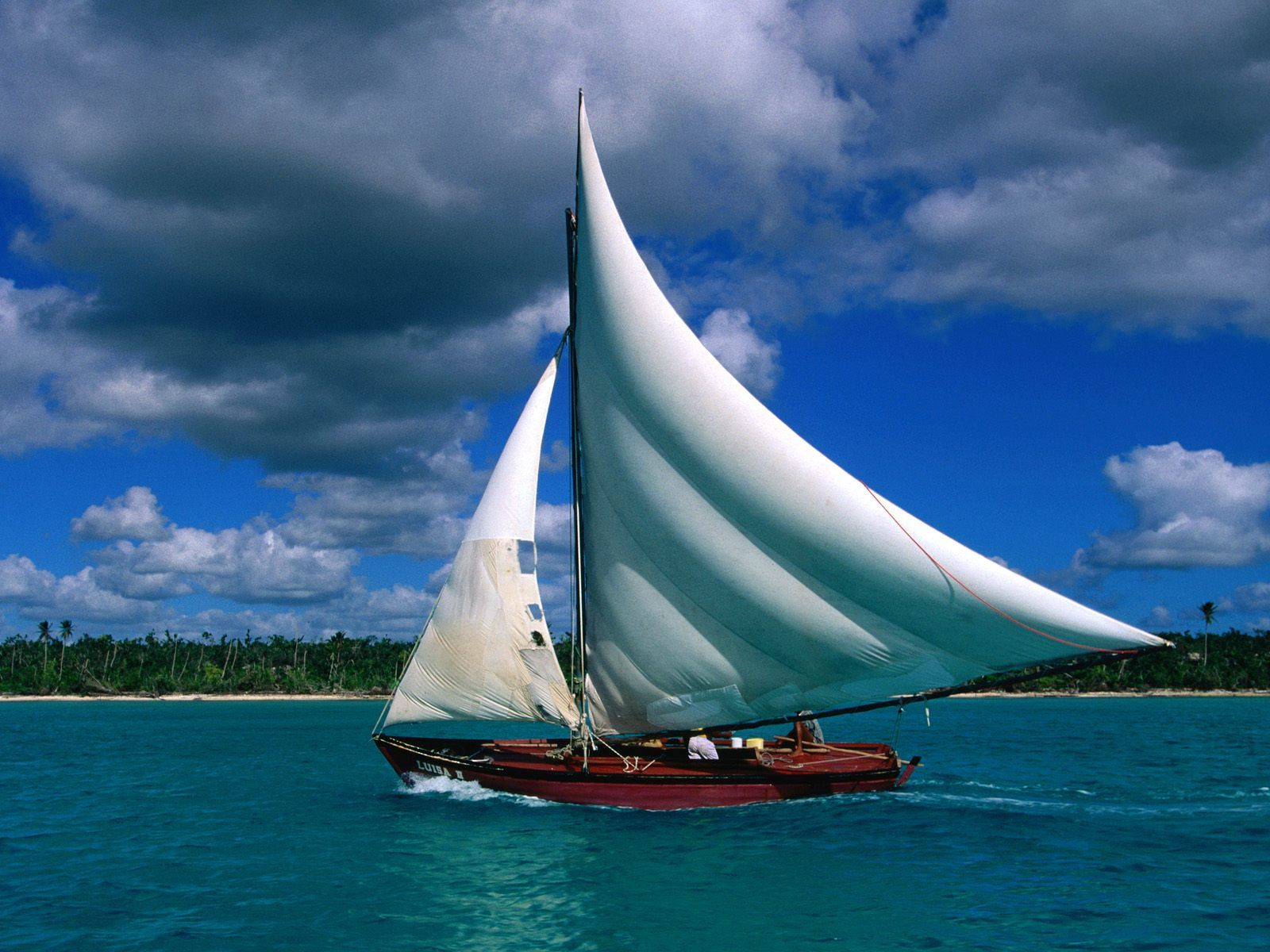 HD Quality Wallpaper | Collection: Artistic, 1600x1200 Sailboat