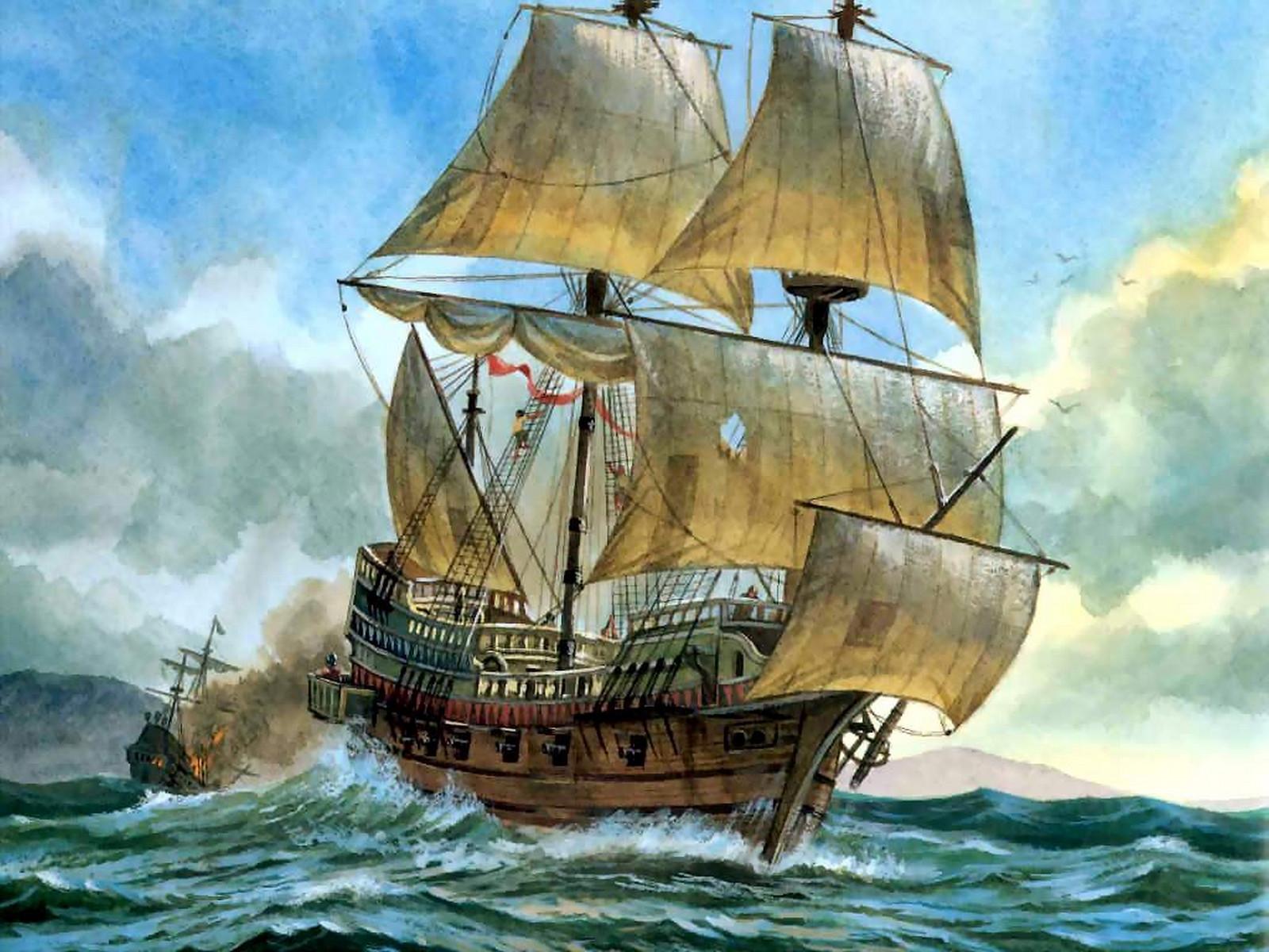 Nice Images Collection: Sailing Ship Desktop Wallpapers