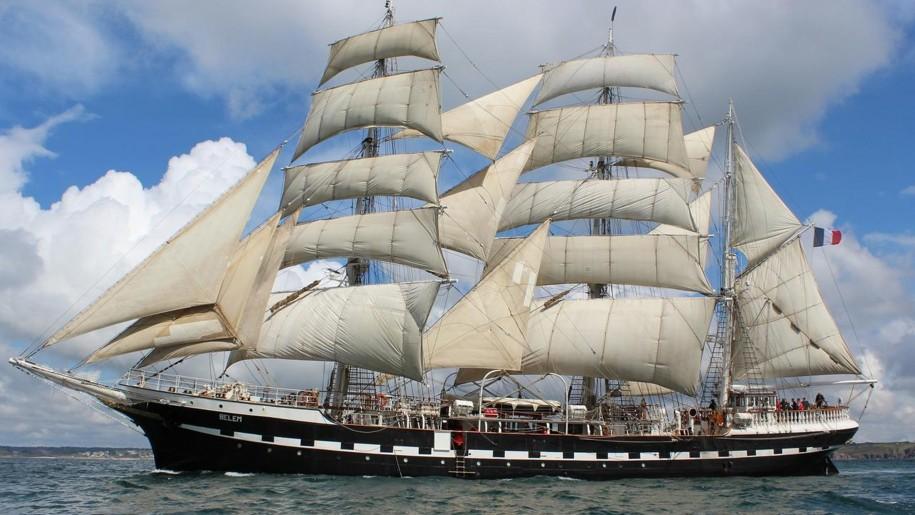 Sailing Ship Backgrounds, Compatible - PC, Mobile, Gadgets| 915x515 px