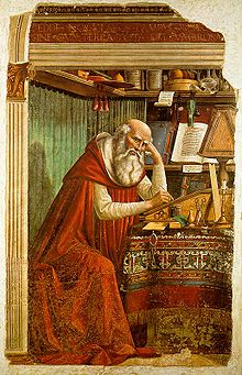 HD Quality Wallpaper | Collection: Artistic, 220x341 Saint Jerome