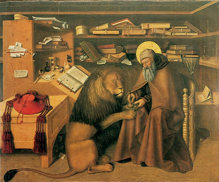 HD Quality Wallpaper | Collection: Artistic, 700x582 Saint Jerome