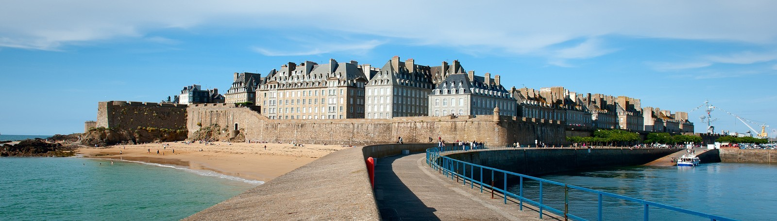Nice Images Collection: Saint Malo Desktop Wallpapers