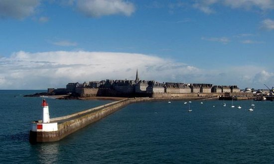 HD Quality Wallpaper | Collection: Man Made, 550x330 Saint Malo