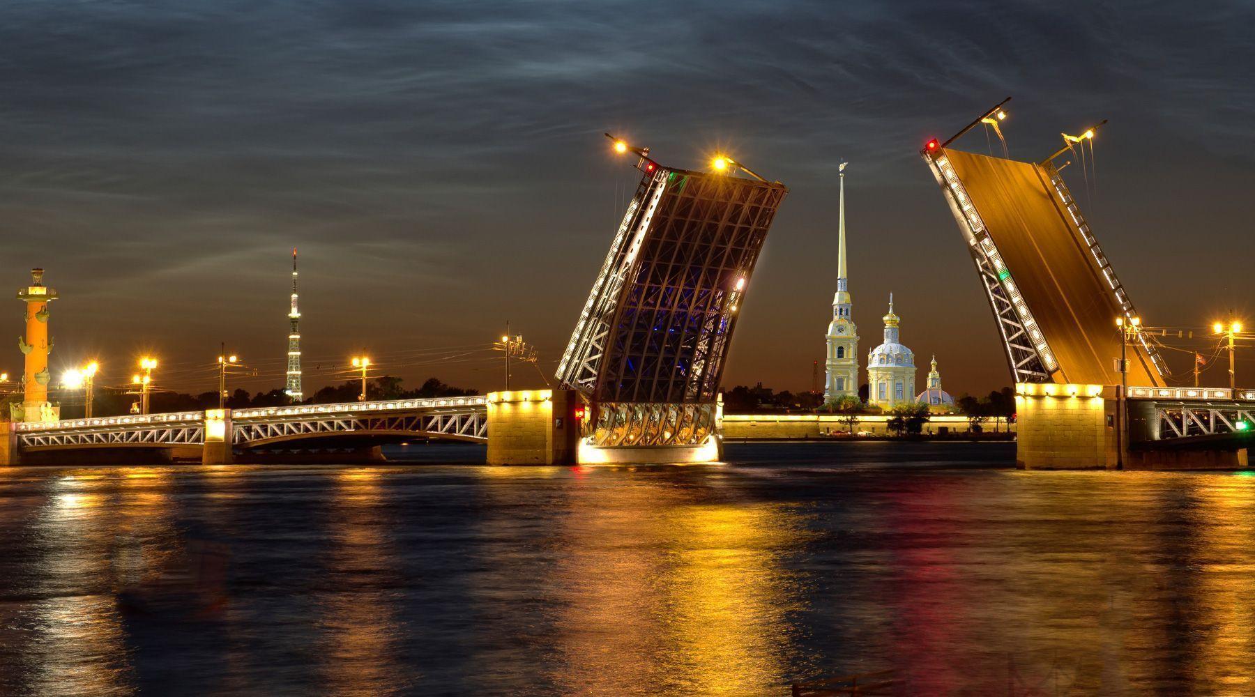 HD Quality Wallpaper | Collection: Man Made, 1800x1000 Saint Petersburg
