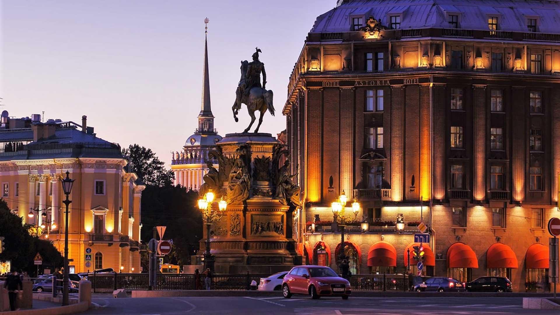 Nice Images Collection: Saint Petersburg Desktop Wallpapers