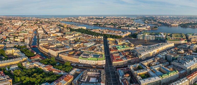 High Resolution Wallpaper | Saint Petersburg 770x334 px