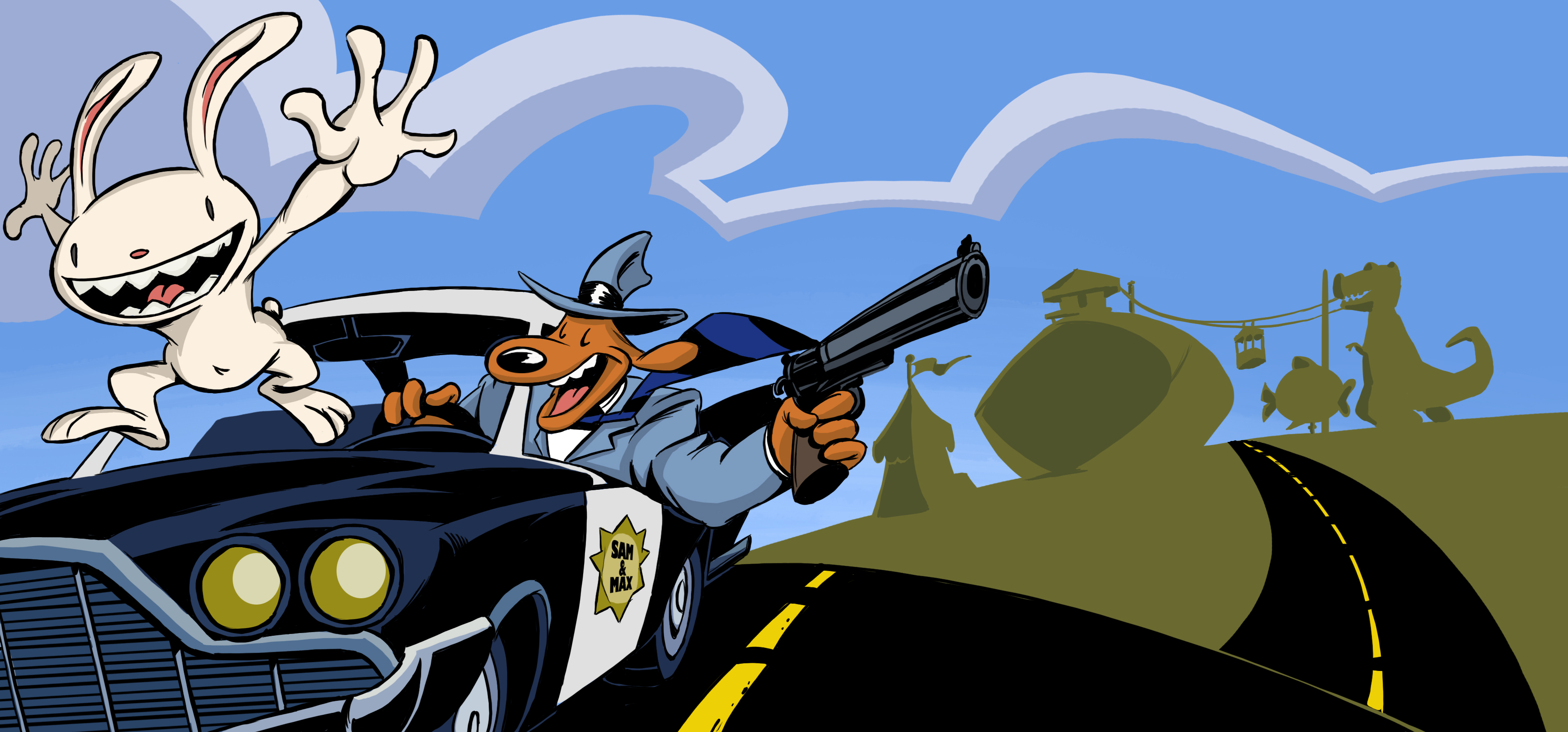 Nice Images Collection: Sam And Max Desktop Wallpapers