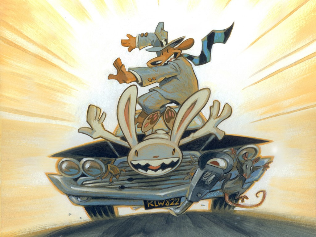 HD Quality Wallpaper | Collection: Cartoon, 1024x768 Sam And Max