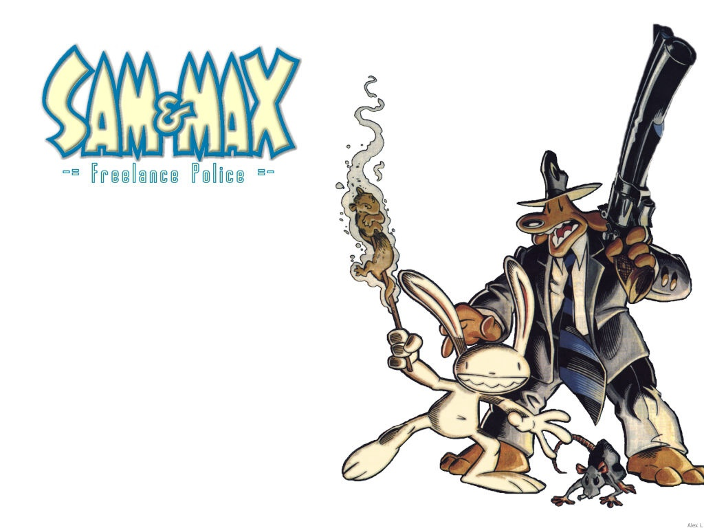 Sam And Max High Quality Background on Wallpapers Vista