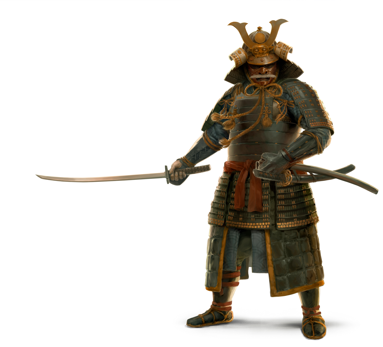 High Resolution Wallpaper | Samurai 2435x2208 px
