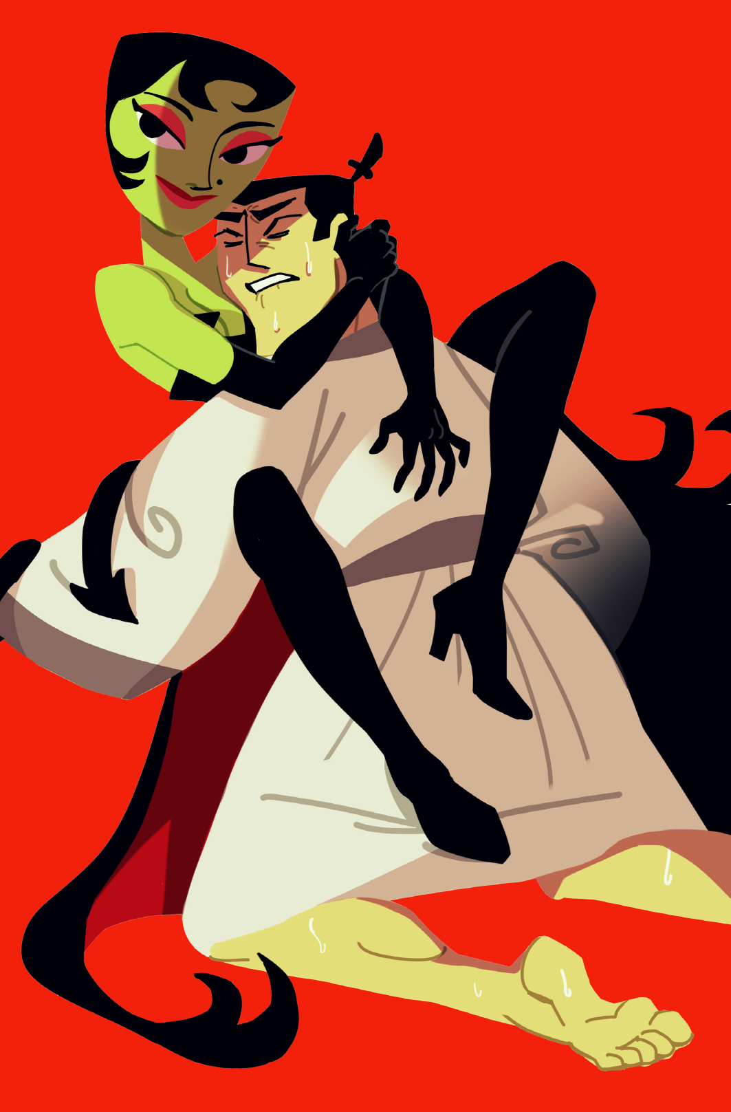 HD Quality Wallpaper   Collection: Cartoon, 1063x1617 Samurai Jack