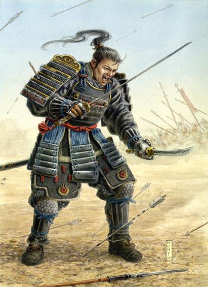 HD Quality Wallpaper | Collection: Artistic, 411x565 Samurai