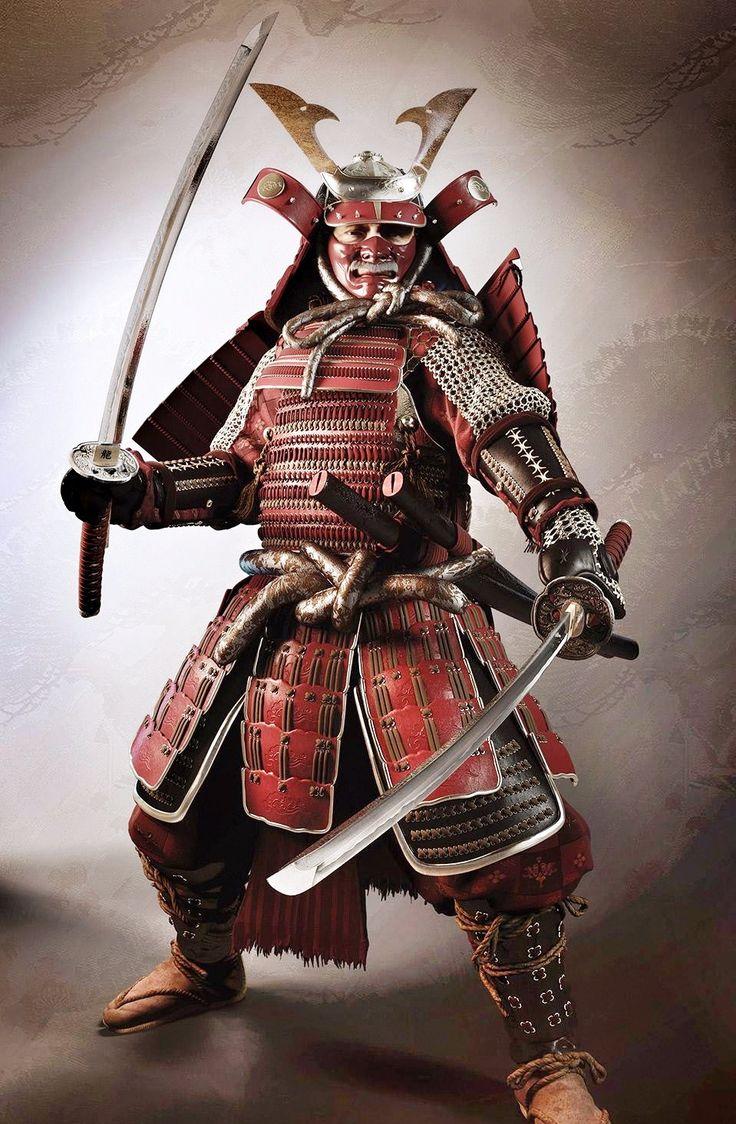 HD Quality Wallpaper | Collection: Artistic, 736x1124 Samurai