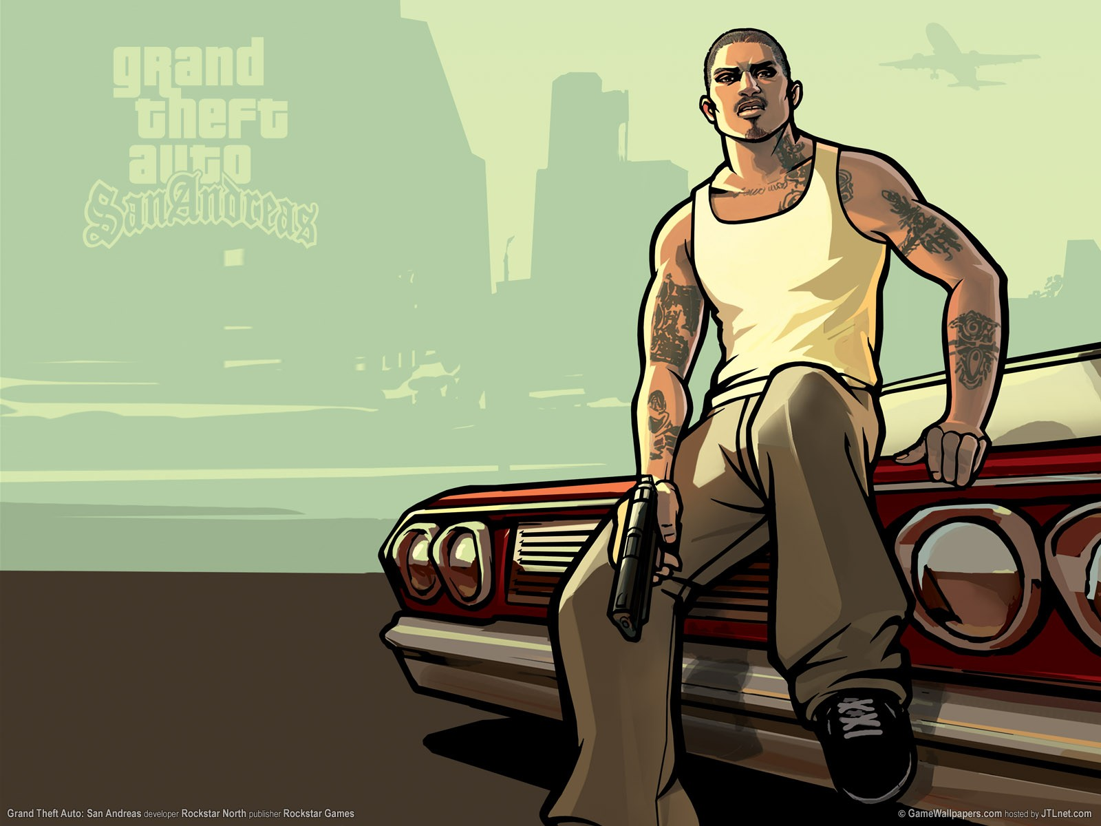 Nice Images Collection: Grand Theft Auto: San Andreas Desktop Wallpapers