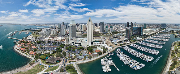 San Diego Backgrounds, Compatible - PC, Mobile, Gadgets| 582x240 px