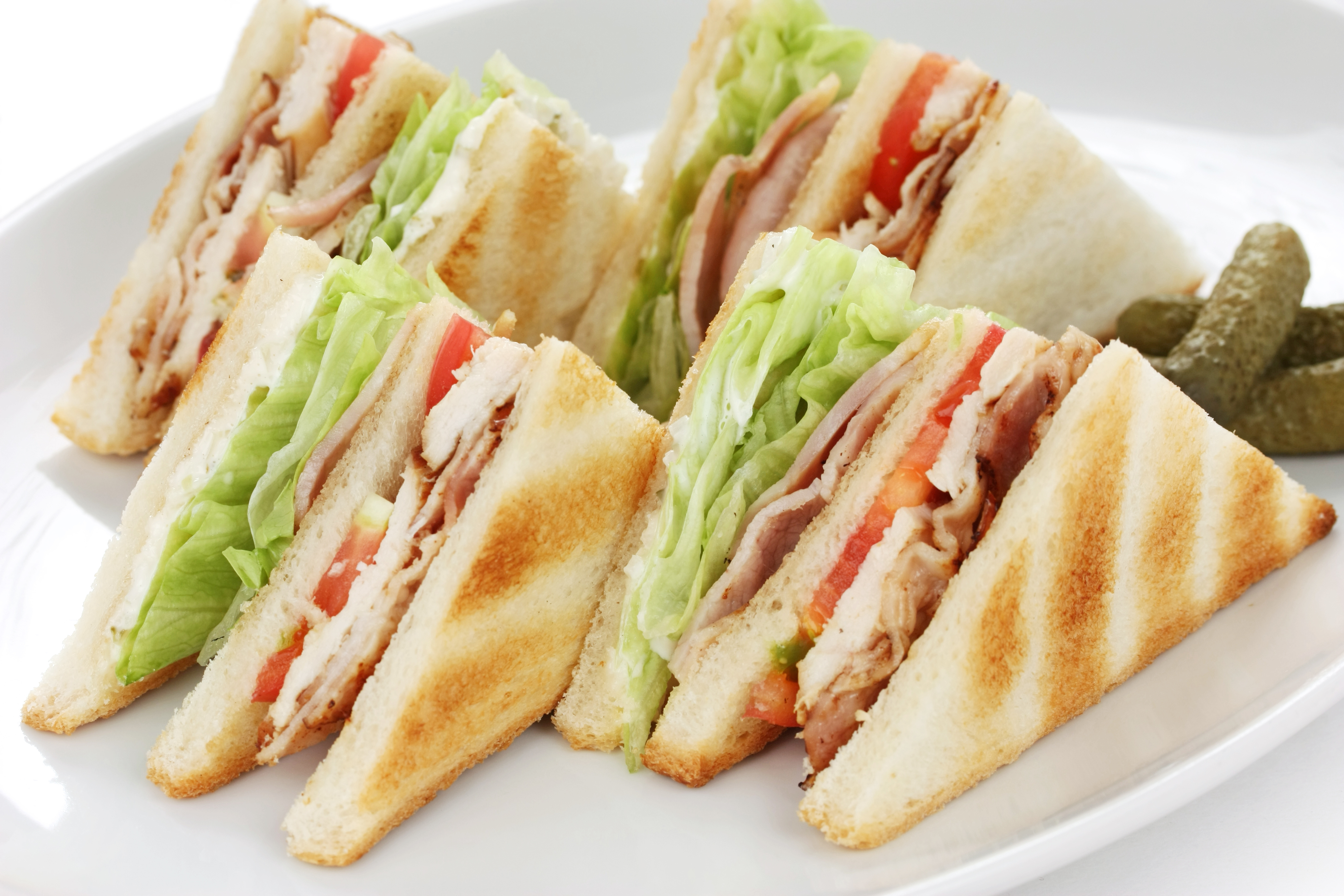 Nice Images Collection: Sandwich Desktop Wallpapers