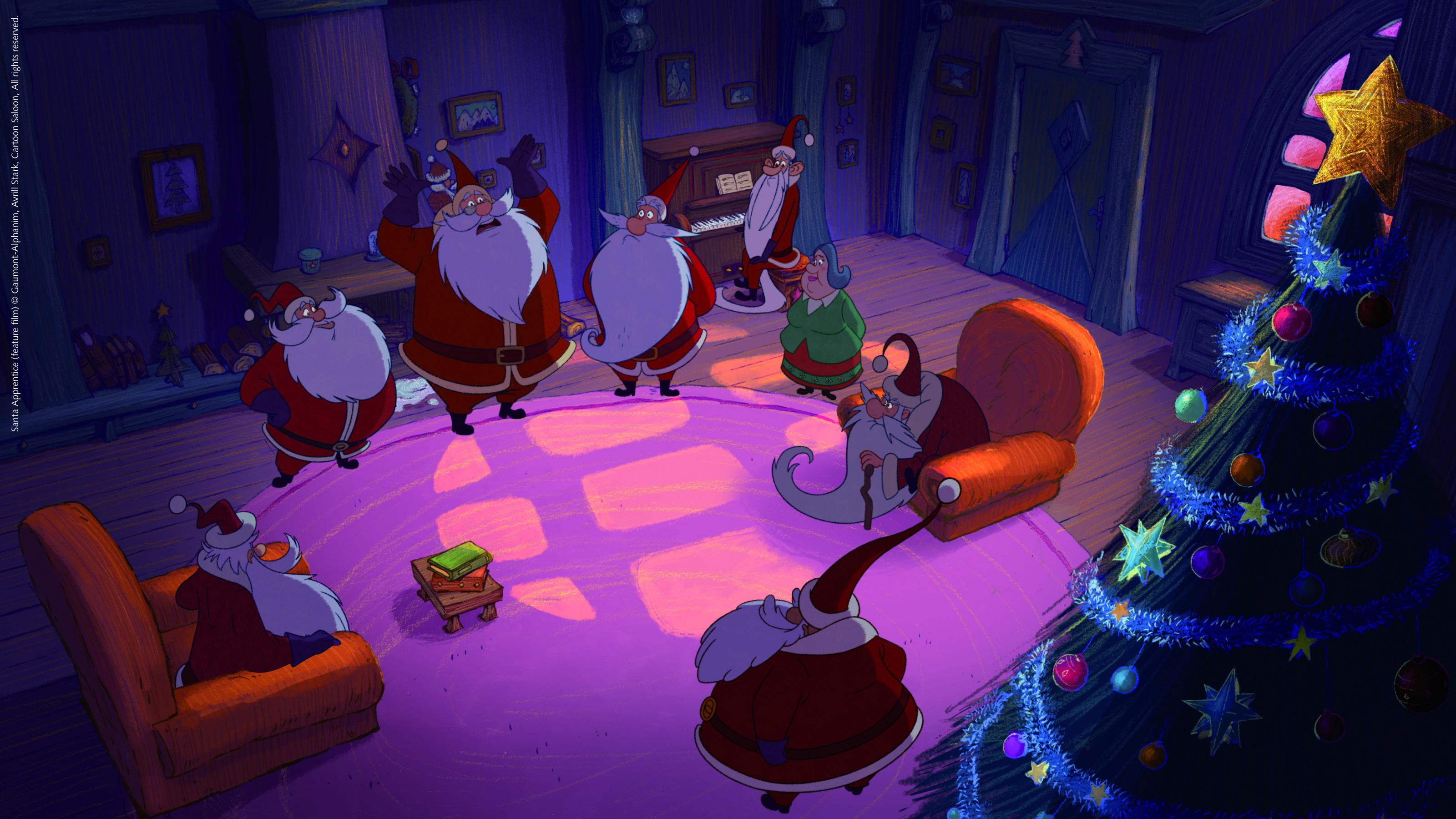 Santa's Apprentice Backgrounds, Compatible - PC, Mobile, Gadgets| 3200x1800 px