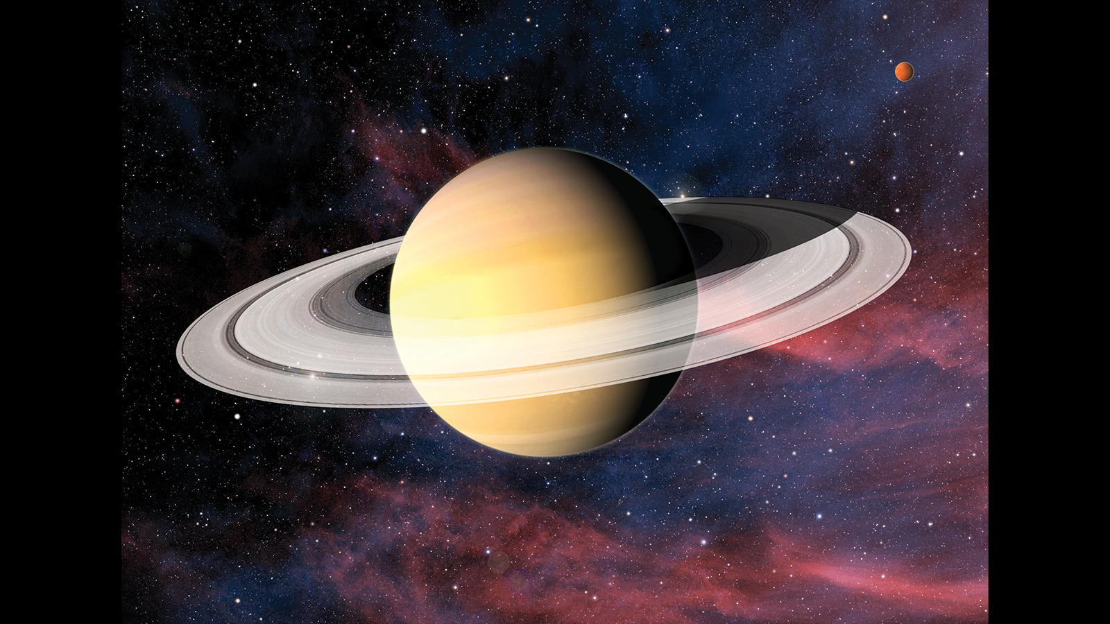 High Resolution Wallpaper | Saturn 1600x900 px