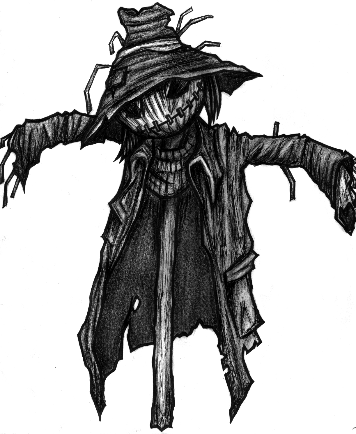 High Resolution Wallpaper | Scarecrow 1223x1489 px