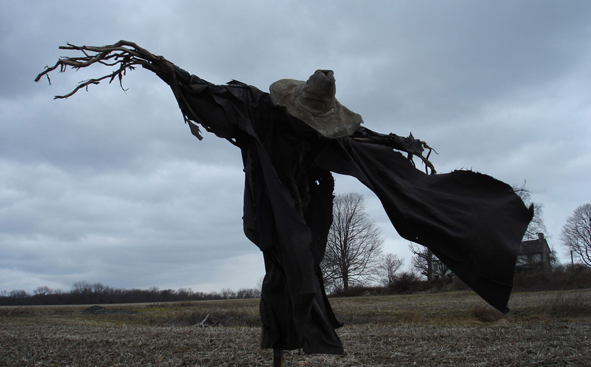 HD Quality Wallpaper | Collection: Dark, 1200x745 Scarecrow