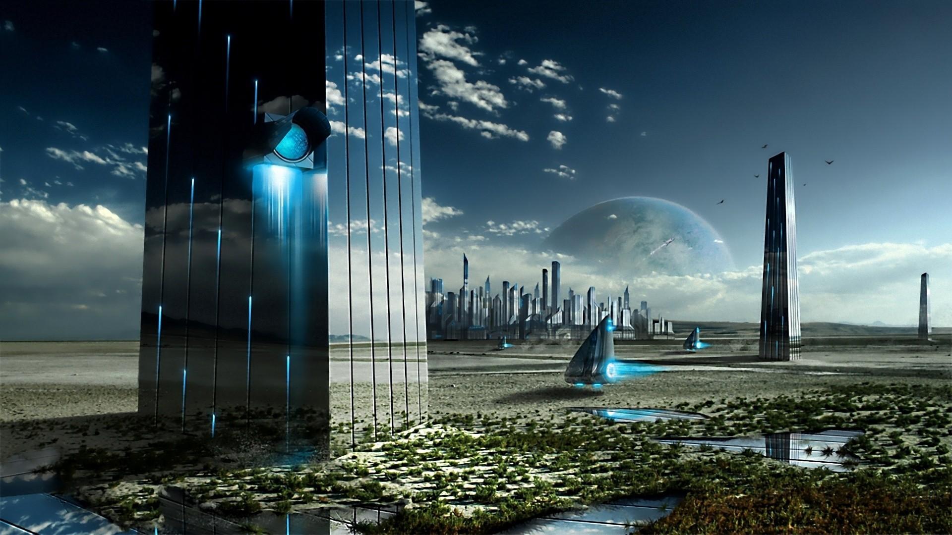 Sci Fi Backgrounds, Compatible - PC, Mobile, Gadgets  1920x1080 px