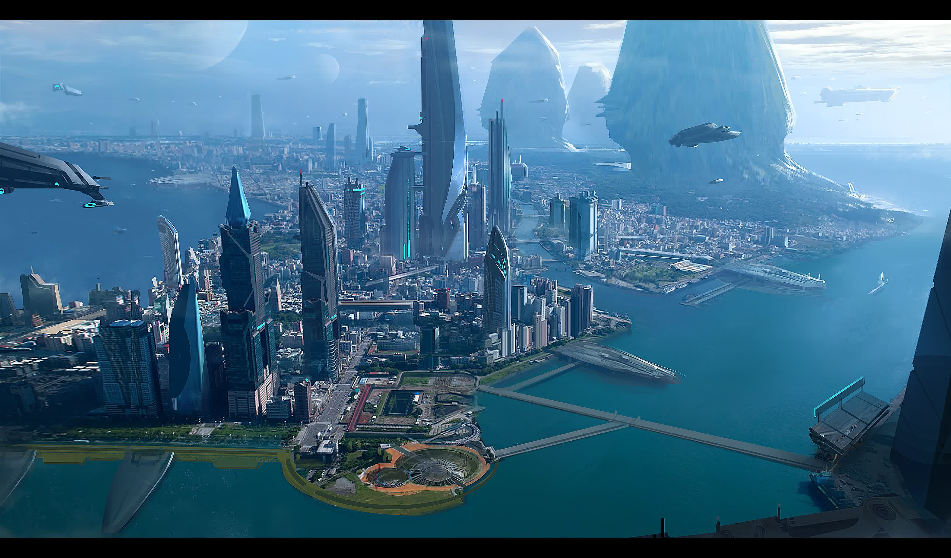 Sci Fi Backgrounds on Wallpapers Vista