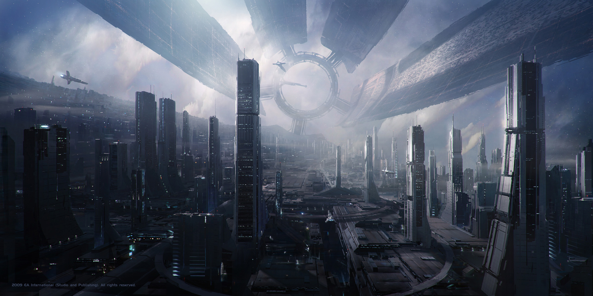 HD Quality Wallpaper   Collection: Abstract, 1920x960 Sci Fi
