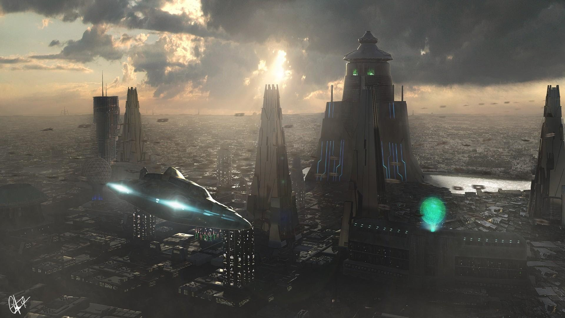 Nice wallpapers Sci Fi 1920x1080px