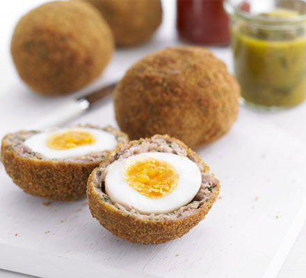 HD Quality Wallpaper | Collection: Food, 440x400 Scotch Egg