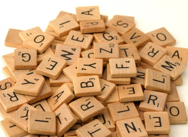 Nice wallpapers Scrabble 610x445px